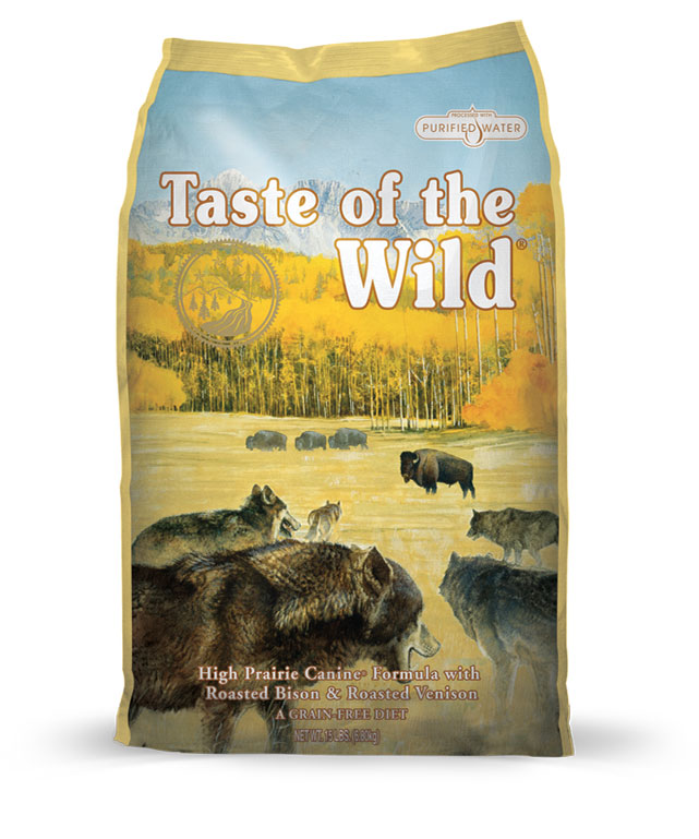 High Prairie Canine® Formula with Bison & Roasted Venison
