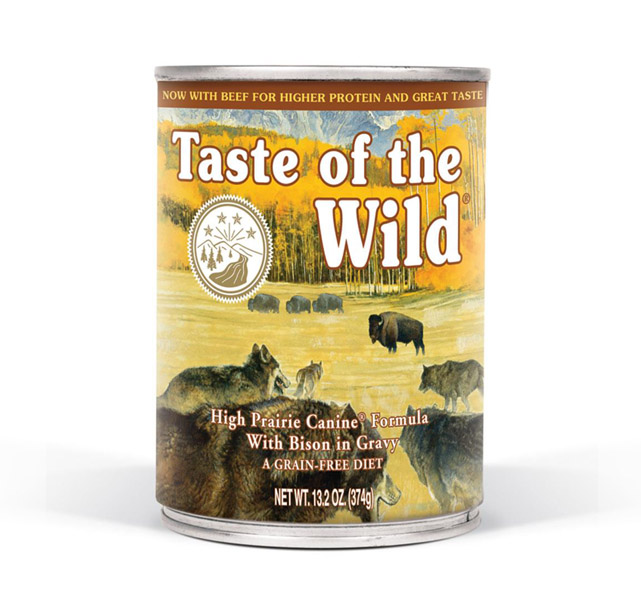 High Prairie Canine® Formula with Bison in Gravy