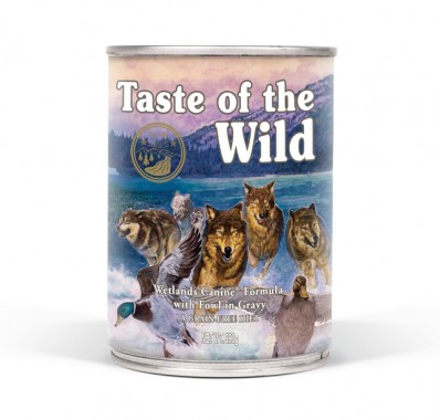 Wetlands Canine® Formula with Fowl in Gravy