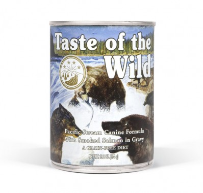 Pacific Stream Canine® Formula with Salmon in Gravy