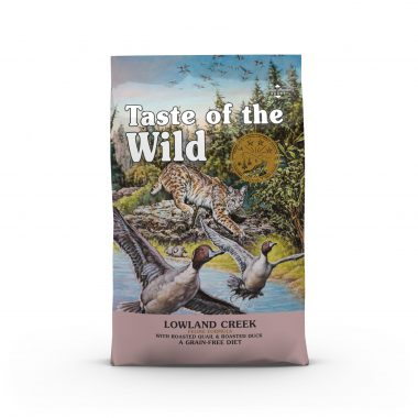 Lowland Creek Feline Formula with Roasted Quail & Roasted Duck